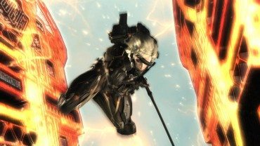 Metal Gear Rising Not Part of the Solid Series