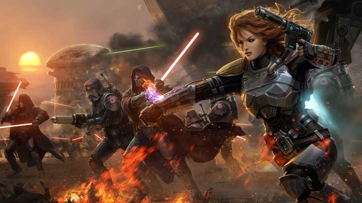 SWTOR is the Fastest Growing MMO in History News  SWTOR