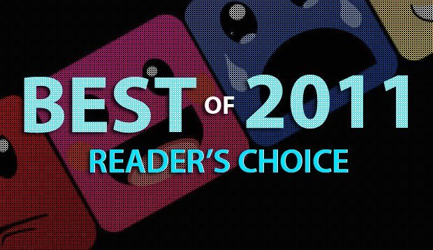 Best of 2011: Reader's Choice Voting
