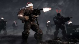 Celebrate the Holidays Gears of War Style