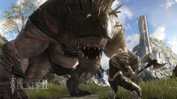 Infinity Blade II Available Now on App Store Mobile News  Epic Games