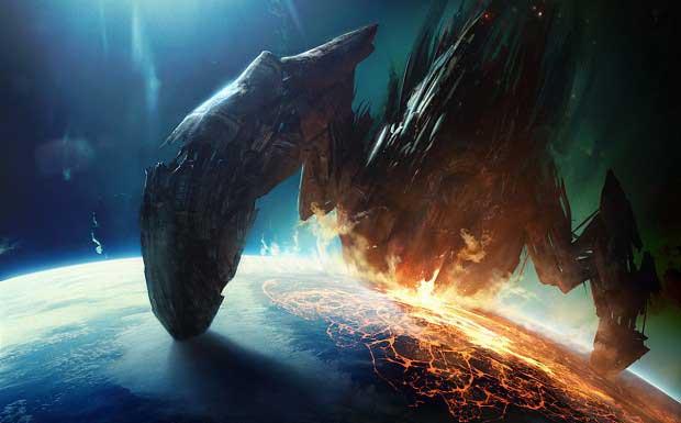 Shepard Battles Reaper in Latest Mass Effect 3 Trailer