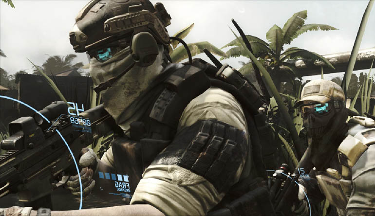 Ghost Recon Future Soldier has the look
