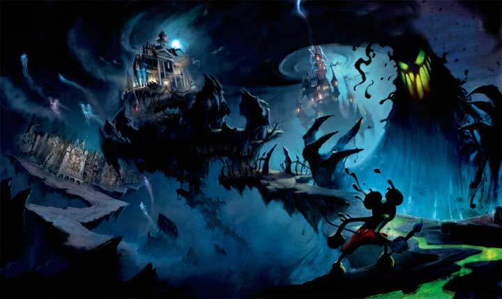 Epic Mickey 2 on the way claims Disney News PlayStation  Epic Mickey EA