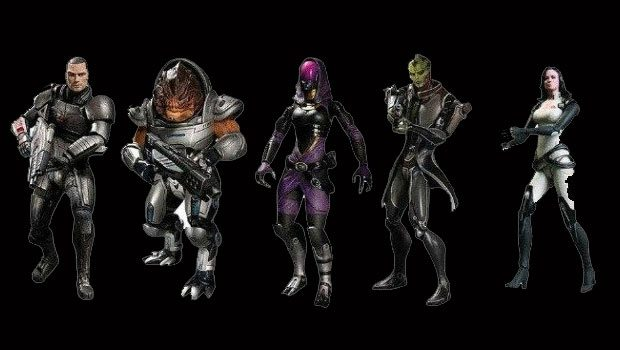Mass Effect 3 Action Figures Contain Exclusive DLC