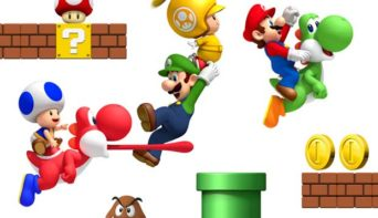 2D Super Mario Brothers Coming to 3DS