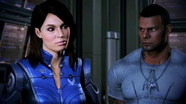 A closer look at one of Shepard's New Squadmates in Mass Effect 3 PC Gaming PlayStation Videos Xbox  Mass Effect 3