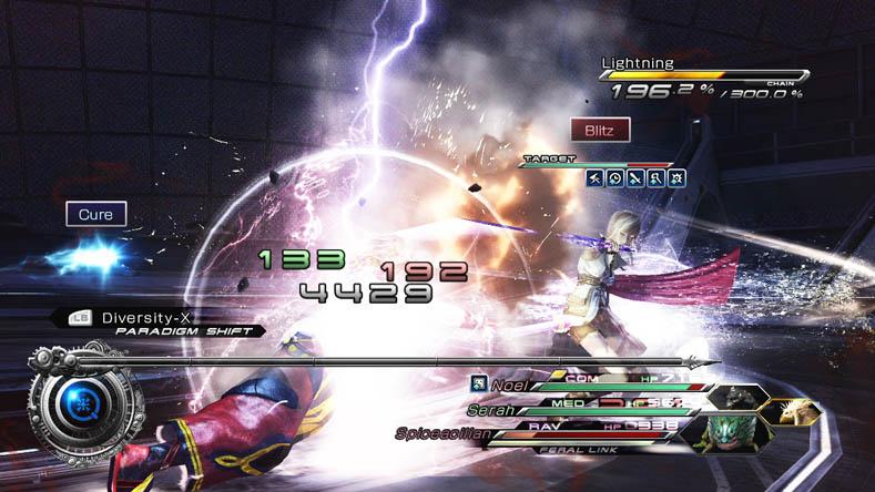 PlayStation Screenshots Xbox  Final Fantasy XIII 2