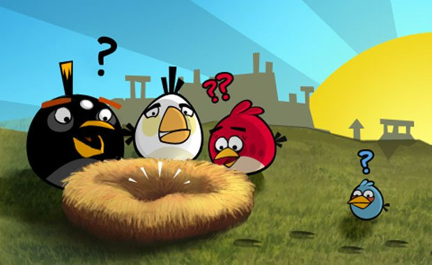 Angry Birds arrives on Facebook