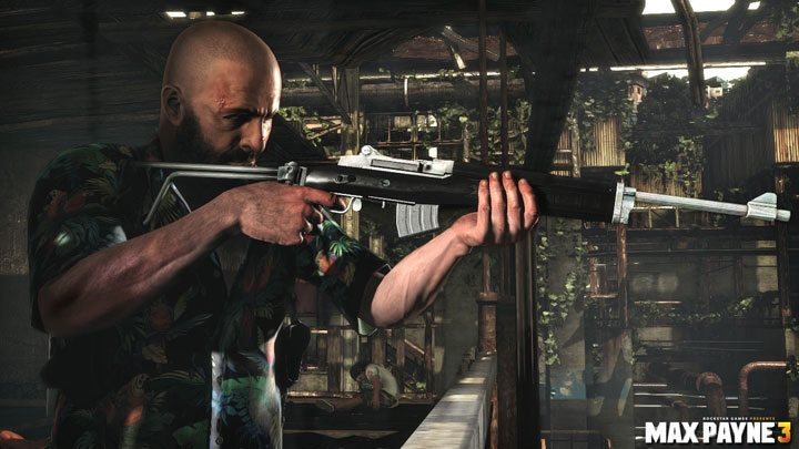 This is Max Payne's Rifle
