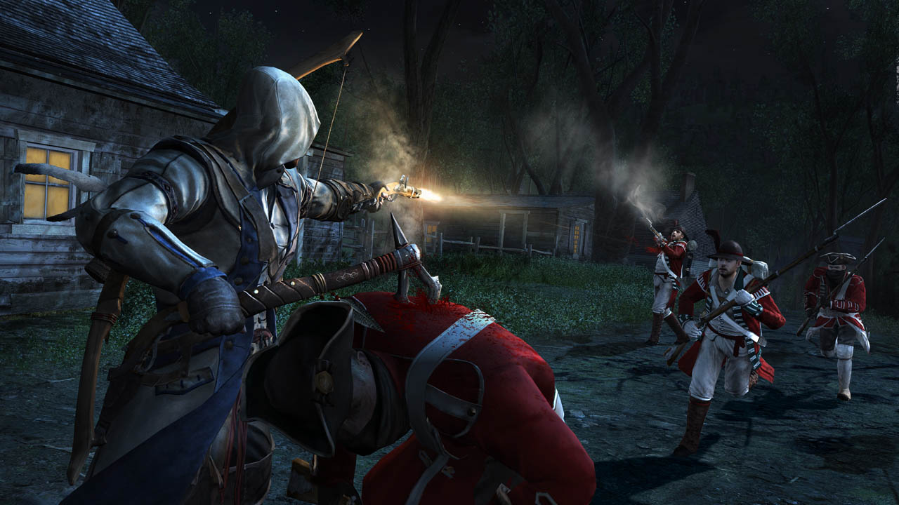 Connor's weapons in Assasssin's Creed III