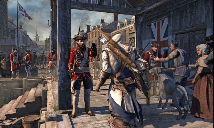 New Assassin's Creed III Screenshots