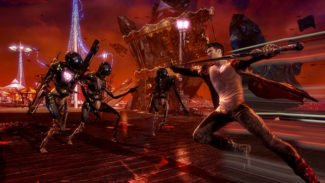Meet Dante and his Weapons in Devil May Cry