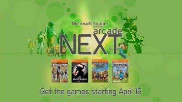Xbox 360 Arcade Next promotion features Minecraft
