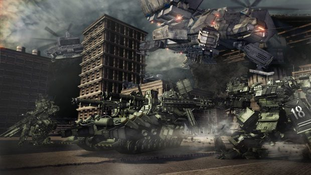 Armored Core V: Review PlayStation Reviews Xbox  Armored Core V