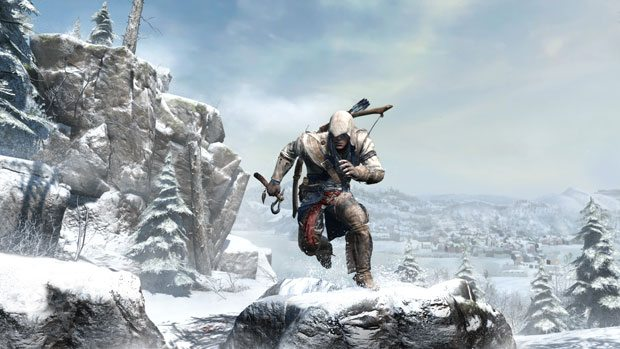 Assassin's Creed 3: Connor Revealed, Wii U mentioned in announcement News Nintendo PC Gaming PlayStation Videos Xbox  Assassins Creed III