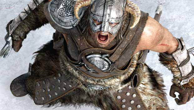 Skyrim and Kinect will make nice later this month