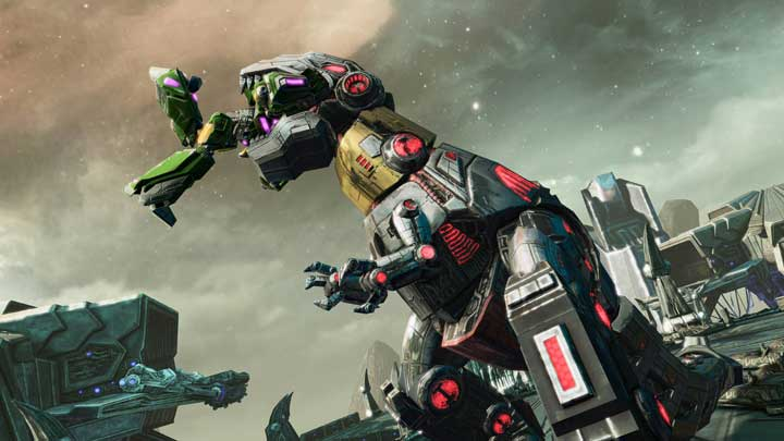 Meet The Dinobots from Transformers: Fall of Cybertron
