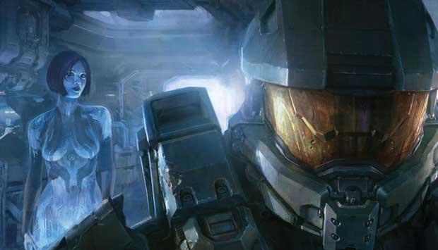 Cortana revealed in new Halo 4 Art News Xbox  Xbox 360 Halo 4
