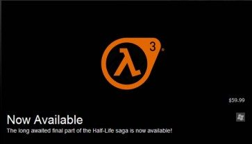 Valve Teases Half Life 3