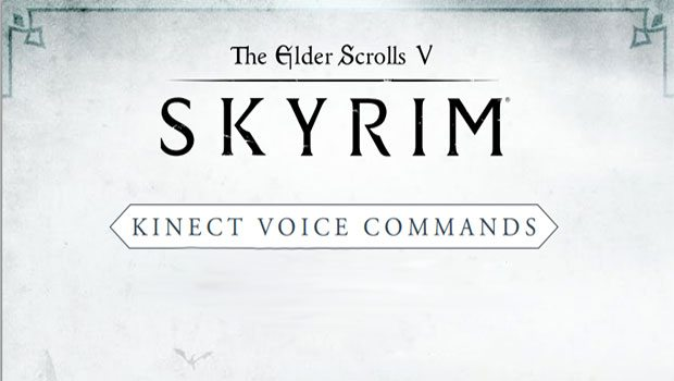 skyrim-kinect-commands-list