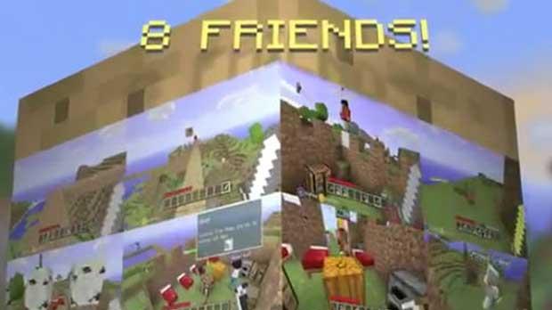 Minecraft Xbox 360 Multiplayer Trailer News Videos Xbox  Xbox Live Xbox 360 Notch Mojang Minecraft
