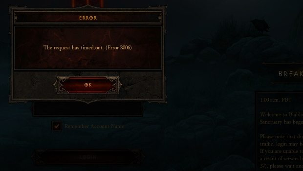 Evil truly is back in Diablo III...in the form of game bugs News PC Gaming  Diablo III Blizzard