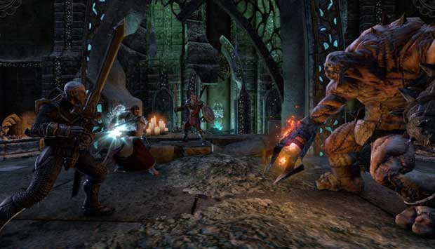 Elder Scrolls Online: Converting Skyrim fans to MMO players News PC Gaming  The Elder Scrolls Online Skyrim Bethesda