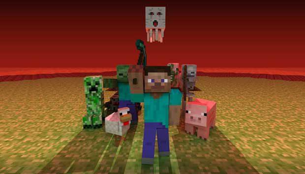 Minecraft developer investigating bringing PC textures to Xbox 360 News  Minecraft