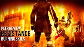 Resistance Burning Skies a handheld shooter that can't be saved by dual analogs