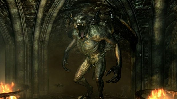 The Elder Scrolls V: Skyrim Dawnguard Expansion first video