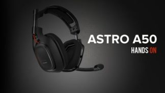 Astro A50 Headphones Hands-on Preview