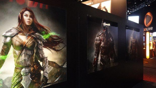 Elder Scrolls Online debuted at E3 2012. We got a first-hand look. E3 PC Gaming  Elder Scrolls Online E3 2012 Bethesda