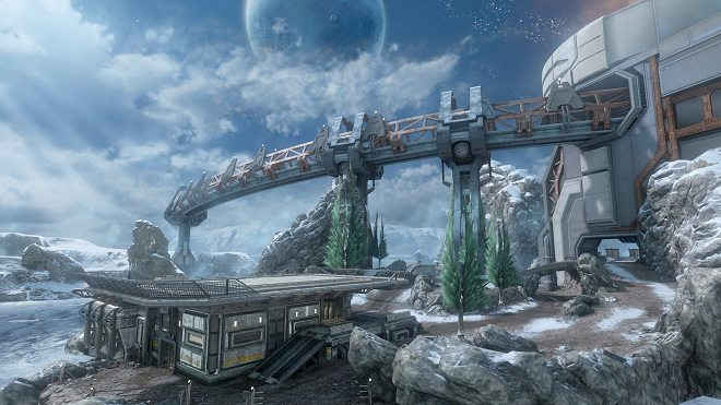 "Halo 4 campaign, multiplayer maps, Spartan Ops are all ""near complete."""