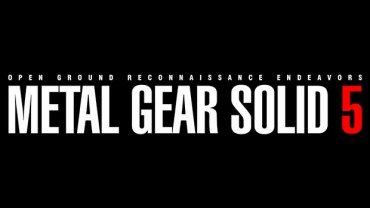 Konami teasing Metal Gear Solid 5 SDCC