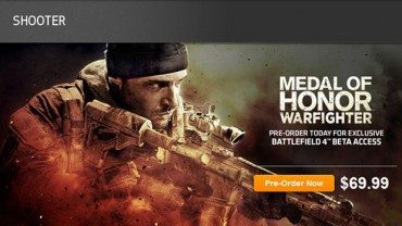 Battlefield 4 Beta may be tied to Medal of Honor: Warfighter