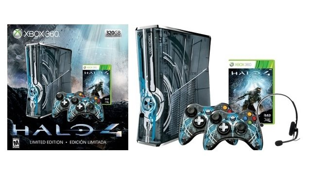 Halo 4 Xbox 360 bundle and design outed