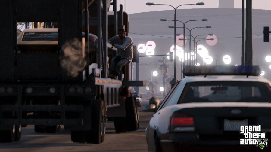 Latest GTA V shots are all about Business News Screenshots  GTA V