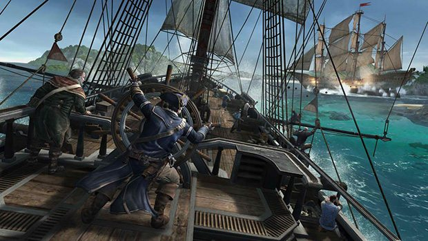 Take the fight to sea in Assassin's Creed III