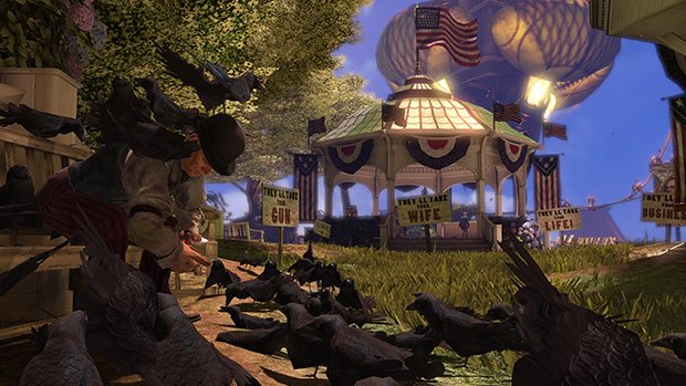 Gears of War developer moves on to help with Bioshock Infinite News PlayStation Xbox  Bioshock Infinite