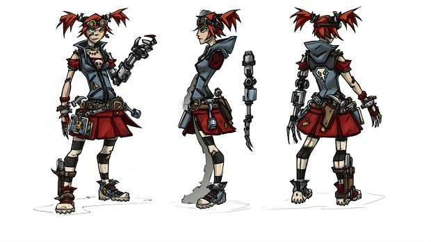 Borderlands 2 Mechromancer character and skill tree detailed