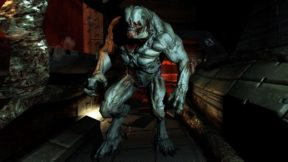 You might see a lot of Rage in the PS3 version of the Doom 3 BFG Edition
