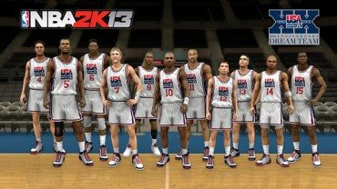 NBA 2K13 to get Olympic Teams from past and present