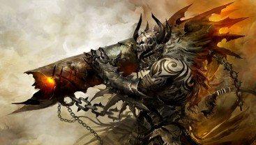 Guild Wars 2 World vs World Multiplayer Gameplay
