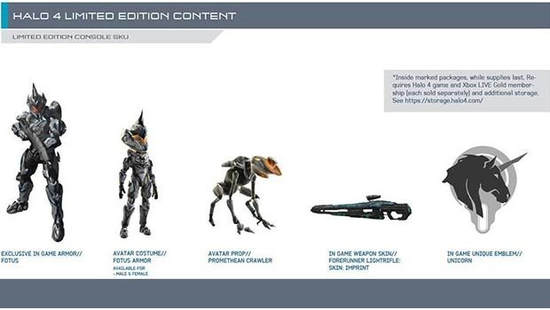 Halo 4 has Unicorn Armor News Xbox  Halo 4