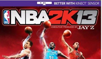 NBA 2K13 will get Kinect features on Xbox 360
