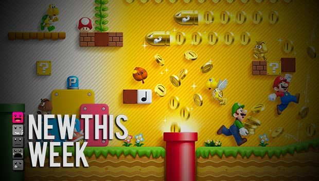 New This Week in Video Games News  Video Game Releases New Super Mario Bros 2 Dark Souls