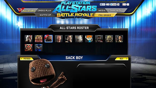 Sackboy and Raiden revealed in PlayStation AllStars Leak News PlayStation  PlayStation Allstars