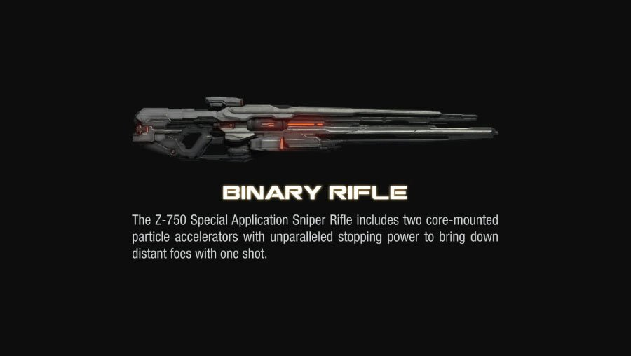 binary rifle halo 4 Halo 4 Helmets, Enemies and Weapons Explained