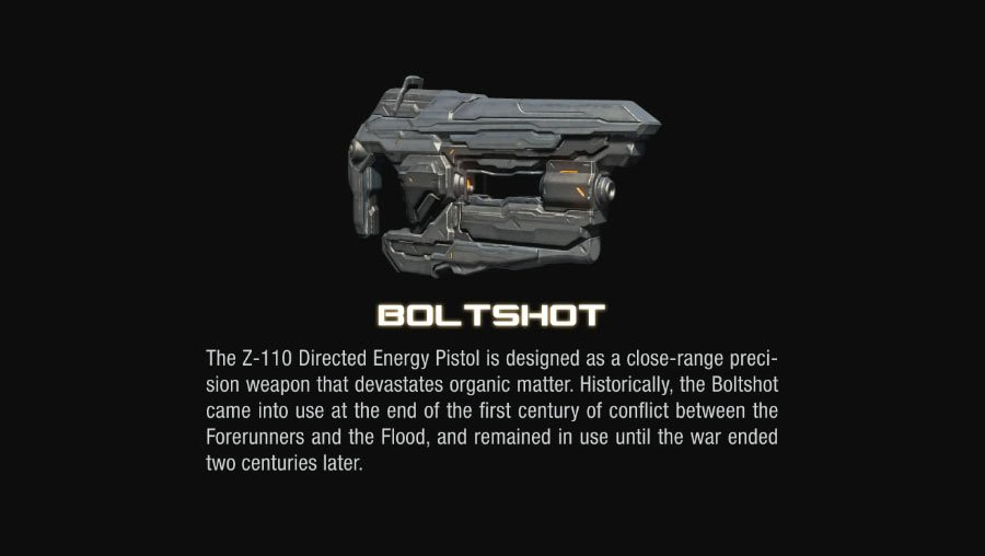 boltshot halo 4 Halo 4 Helmets, Enemies and Weapons Explained